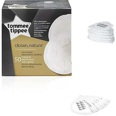 Tommee Tippee Closer to Nature Disposable Breast Pads pack of 50 Pads