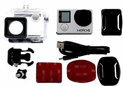 GoPro HERO 4 KIT BLACK EDITION KIT 4K Action Camera Camcorder CHDHX-401 12MP