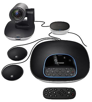 RB Logitech Group Video Conferencing Bundle with Expansion Mics 960-001060