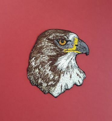 "Red-Tailed Hawk Embroidered Patch 2.5"" x  2.5"""