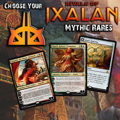 Choose Your Rivals of Ixalan Mythic Rare Cards - RIX MTG M/NM