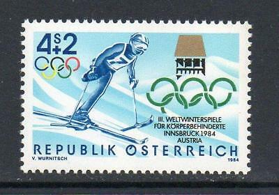 Austria Mnh 1984 Sg1989 3Rd World Winter Games For The Disabled