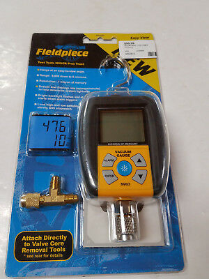 Fieldpiece SVG3 Digital Micron Vacuum Gauge with Easy View hook  93028-5 EB