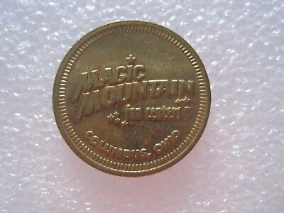 Magic Mountain Fun Centers Columbus Ohio Token Coin 1212-1