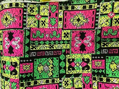 AFRICAN PRINT FABRIC 100% COTTON Clearance Dress Bright Colour Clothing Shirts