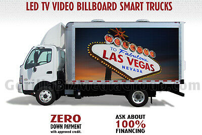 Beast Mobile Led Advertising Billboard Sign Tv Video Truck $Zero Down Pymt