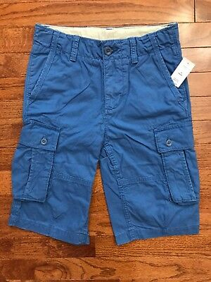 NWT Gap Kids Cargo Shorts Boys 10 NEW