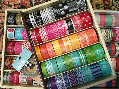 Washi Craft Tape for Erin Condren Planners, Bullet Journal - Choose Your Design!