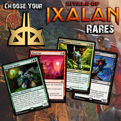 Choose Your Rivals of Ixalan Rare Cards - RIX MTG M/NM