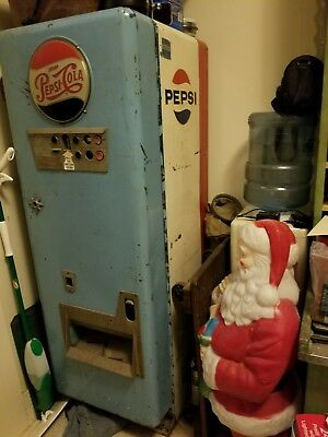 1954 Light Up 72D Pepsi Cola Choice Vend machine Rare UNLISTED