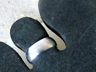 SILVER TOE RING STERLING 925 ADJUSTABLE 6 mm WIDE BAND Womens Girl Midi Beach