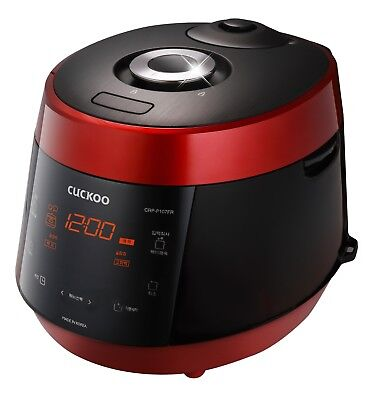 NEW RED Cuckoo 10 Cup Pressure Cooker CRP-P1009S / 240V