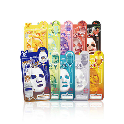 [ELIZAVECCA] Deep Power Ringer Mask Pack 10 Type 23ml * 2pcs - BEST Korea