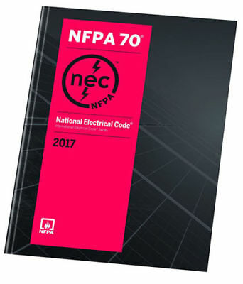 NFPA 70 National Electrical Code 2017 1st Ed. BRAND NEW US EDITION- PAPERBACK