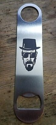 Breaking bad Heisenberg stainless steel bottle opener/church key