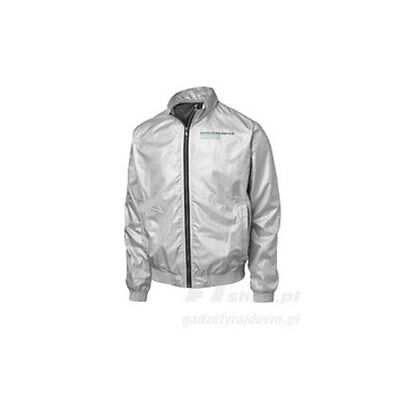 Mercedes Amg Petronas Mens Silver Bomber Jacket Coat Sizes S M & L Only