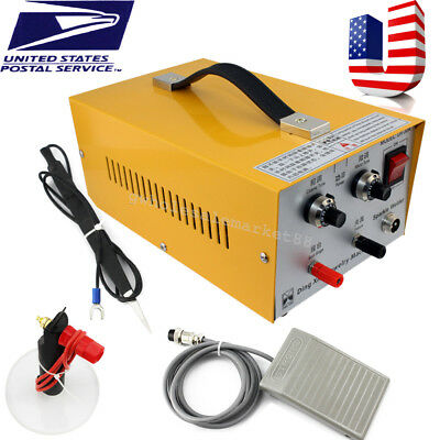 USA  USPS】Pulse Sparkle Spot Welder Electric Jewelry Welding Machine Gold Silver