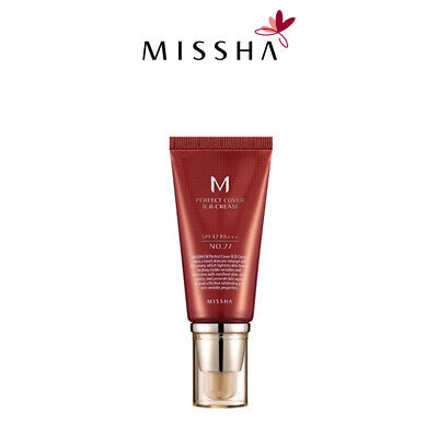 MISSHA M Perfect Cover BB Cream  SPF42 PA+++ 50ml [13,21,23,27,31] Authentic