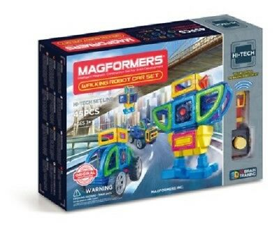 Magformers Walking Robot Car, 45 Piece Set - New Factory Sealed - Free Shipping