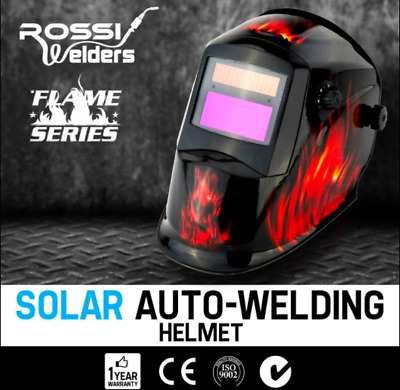 Eagle Design Welding Helmet SOLAR ARC, MIG, TIG, MAG Welding DIN 4 Clear Lenses