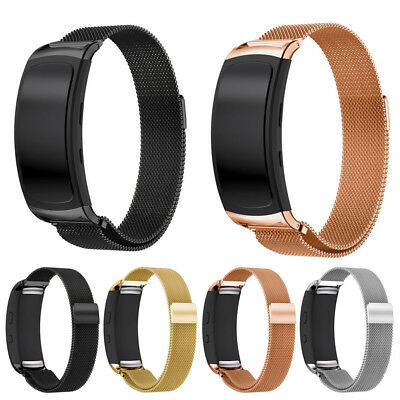 Milanese Magnetic Loop Stainless Steel Band Strap For Samsung Gear Fit2 Pro UK
