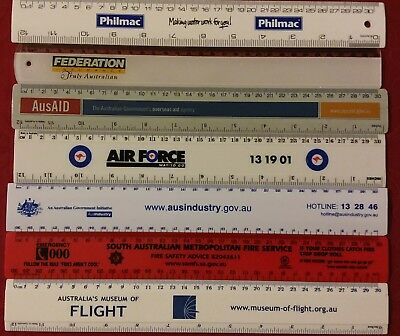 Collectable Australian Advertising Rulers #2