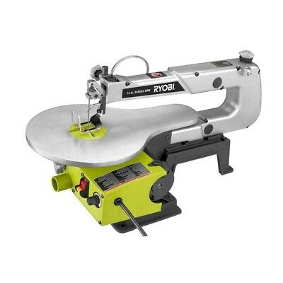 Scroll Saw Table 16 Inch Corded Electric 1.2 Amp Motor Variable Speed Wood Tool