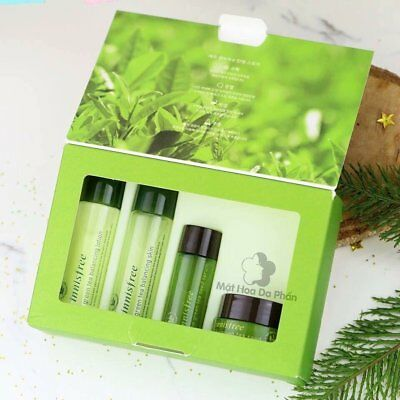 INNISFREE Green Tea Special Kit 4item | Korea Cosmetic FREE SAMPLE FREE TRACKING