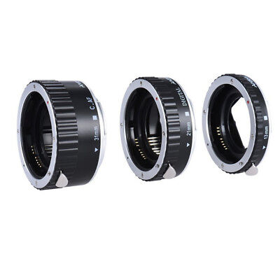 Macro Lens Adapter AF Extension Tubes Ring fr Canon EOS DSLR Camera EF  EF-S EFS