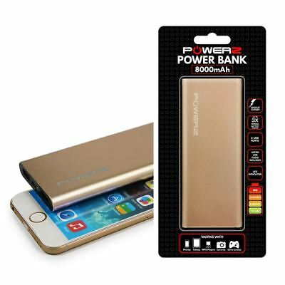 DUAL USB Port 2.1A 12000mAh Portable Charger Power Bank for Motorola Mobiles