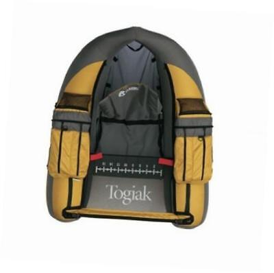 togiak inflatable fishing float tube with backpack straps