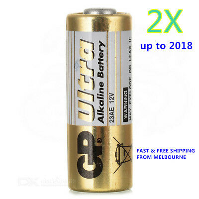 2 x GP Ultra 23AE 12V Alkaline Battery - Free Shipping