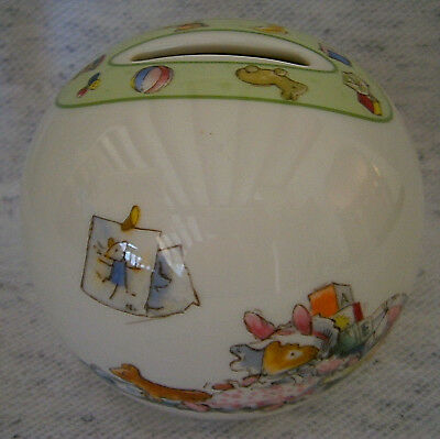 Vintage Brambly Breakfast by Royal Doulton Ball Shape Money Box Gift Collectable