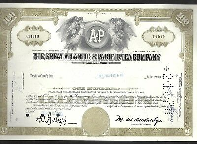 The Great Atlantic & Pacific Tea Company Aktie 06.02.1970