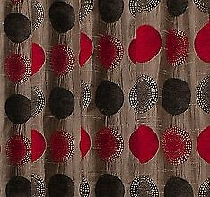 Arnex - Red - Large Fabric Remnant - 14cm Long x 137cm Wide