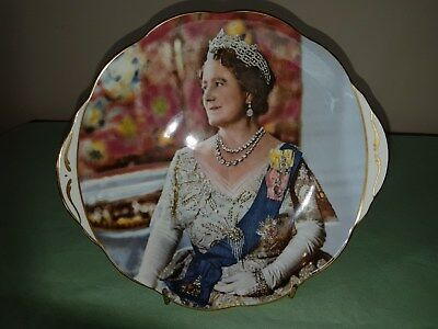 limited edition queen mother 80th birthday plate nwb