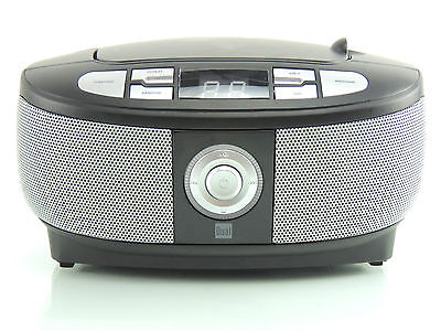 CD-Player UKW Radio Tragbar Portable Boombox Dual P 49-1 Schwarz