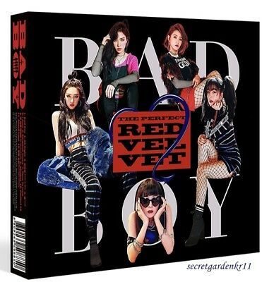 RED VELVET PERFECT RED VELVET Repackage Album BAD BOY : CD+Photocard+Poster+Gift