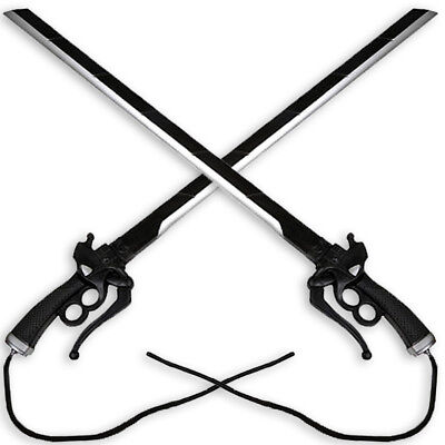 FOAM Attack on Titan DUAL Sword SET 2pcs Special Operations Eren Yeager Cosplay
