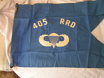 405Th Radio Research Detachment Airborne  Guidon - Original - Full Size.