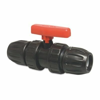 Compression Valve for 20mm 25mm 32mm MDPE Irrigation, water pipe.