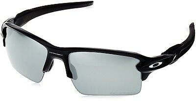 OAKLEY Flak 2.0 XL Sunglasses - Matte Black w/ Black Iridium Polarized OO9188-53
