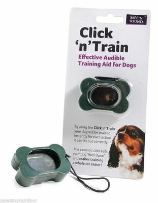 Click 'n' Train Dog Training Clicker Effective Audible Training Aid For Dogs