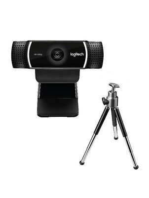 Logitech C922 Pro Stream Full HD Webcam with Mic Full HD 1080p camera at 30 fp