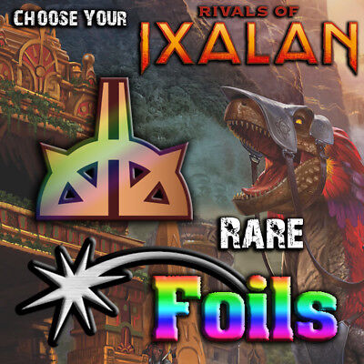 Choose Your Rivals of Ixalan Rare *FOIL* Cards - RIX MTG M/NM