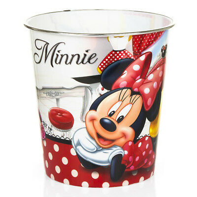 Trash can DISNEY MINNIE MOUSE Basket paper plastic for children- 40240
