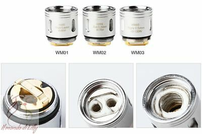 Resistenza WISMEC WM Coil per Gnome RX 0.4 / 0.15 / 0.2 oHm Single Dual Triple