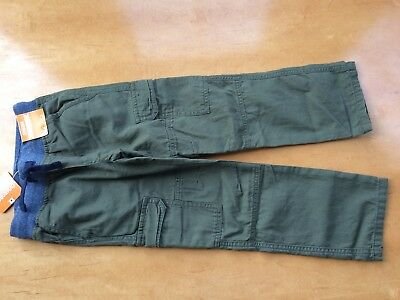 NWT Gymboree Boys Pull on Pants Green Cargo Cosmic Club 2T,3T,5T,4,5,6,7,8,10,12
