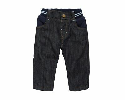 Hugo Boss J94166 Z10 Elastic Waistband Toddler Jeans Dark Blue