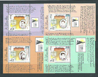 Philippines - Hojas Yvert 110/3 Mnh Characters